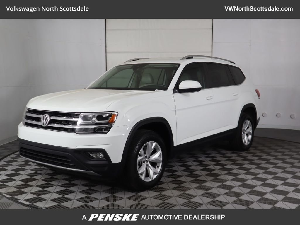 Certified Pre-Owned 2018 Volkswagen Atlas 3.6L V6 SE w/Technology 4MOTION AWD