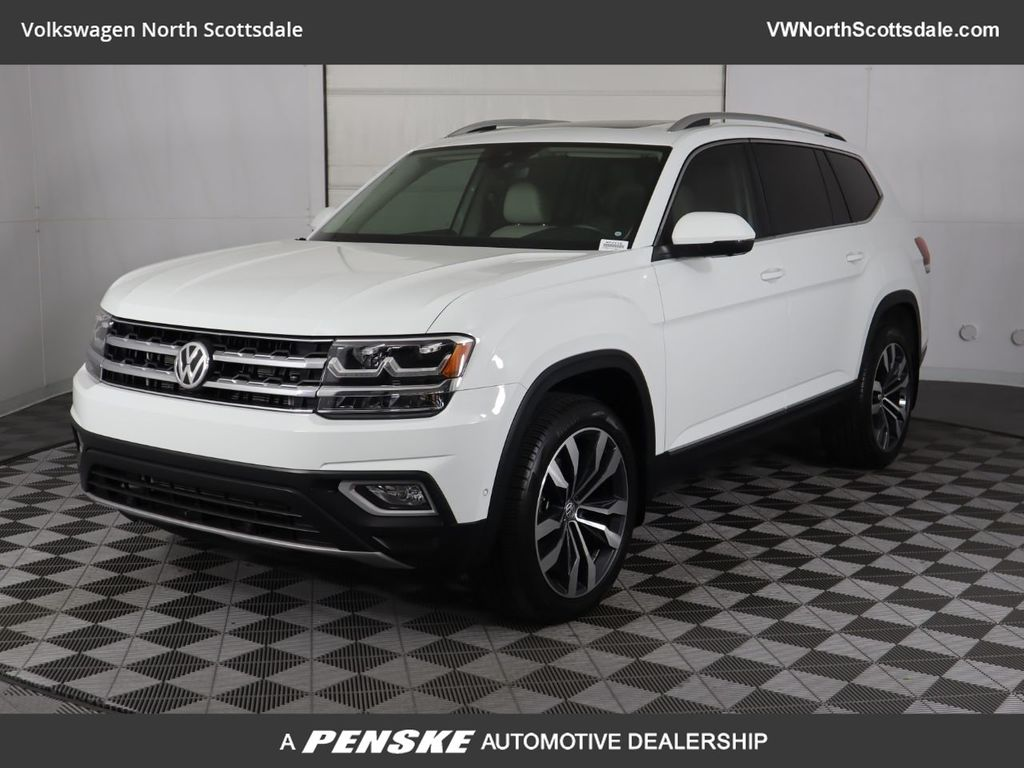 Certified Pre-Owned 2019 Volkswagen Atlas 3.6L V6 SEL Premium 4MOTION With Navigation & AWD