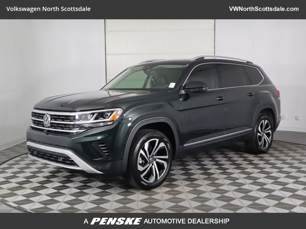 New 2021 Volkswagen Atlas 2.0T SEL Premium 4MOTION